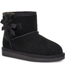 koolaburra by ugg kid's victoria mini booties women's shoes