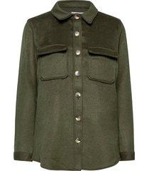objvera owen l/s jacket noos overshirts groen object