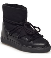 inuikii sneaker classic shoes boots ankle boots ankle boot - flat svart inuikii