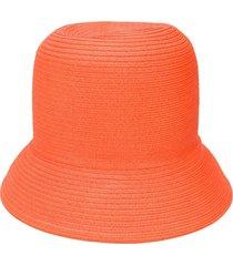 nina ricci textured hat - orange