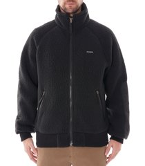 filson sherpa fleece jacket |black| 20117928-blk