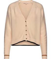 rasanna v-neck cardigan knit gebreide trui cardigan beige soft rebels