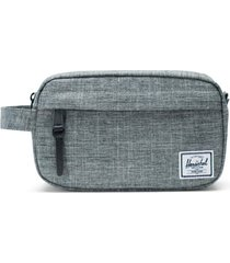 herschel supply co. chapter carry-on dopp kit, size no size - raven crosshatch