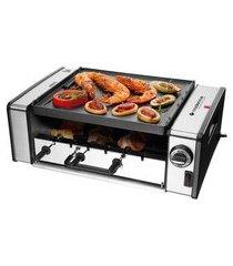 churrasqueira elétrica cadence automatic grill 110v