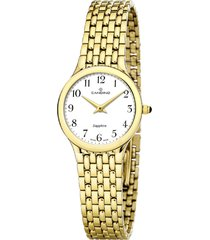 reloj classic timeless dorado candino