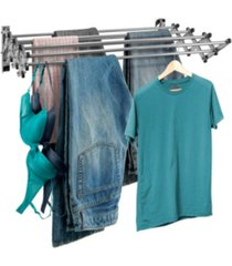 sorbus stainless steel folding clothes rack