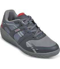 zapatos wedge aeroflex gris md9027