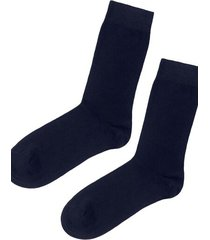 calzedonia short warm cotton socks man blue size 46-47
