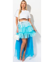 akira adore you layered tulle skirt