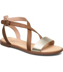 bay rosie shoes summer shoes flat sandals beige clarks