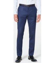 hugo men's slim-fit stripe pants