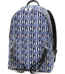 dolce & gabbana d & g logo nylon backpack