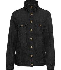 giacca di jeans elasticizzata comfort (nero) - john baner jeanswear