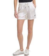 dkny jeans pull-on shorts