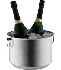 champanheira bottega inox com argola - riva
