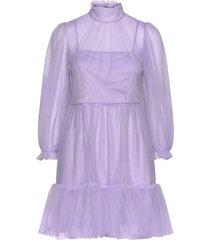 melany mini dress korte jurk paars by malina