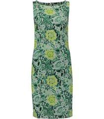 jurk flower print groen