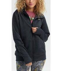 sweater burton women's oak fz hoodie
