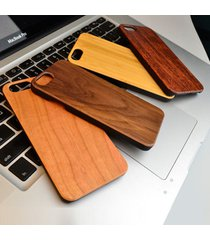 for iphone 7 6 6s plus natural wooden wood blank phone case hard back cover