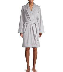 logo fluffy robe