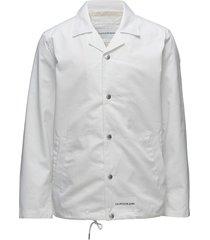 institutional logo coach jacket dun jack wit calvin klein jeans