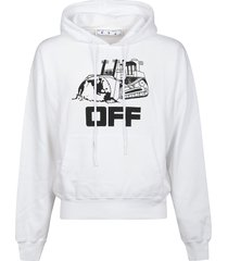 off-white sweatshirt world caterpillar over hoodie