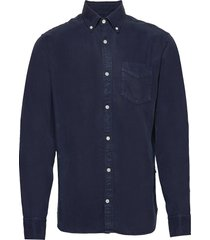levon shirt 5969 overhemd casual blauw nn07
