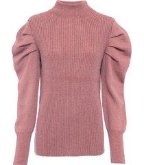 maglione con maniche a sbuffo (fucsia) - bodyflirt