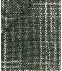 giacca da uomo su misura, vitale barberis canonico, materica verde finestrata, quattro stagioni | lanieri