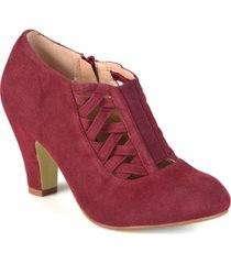 journee collection women's piper bootie women's shoes