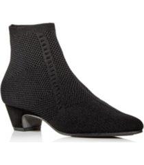 eileen fisher women's purl stretch knit booties women's shoes