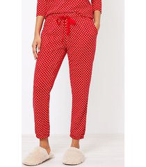 loft heart cozy pajama pants