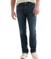 men's lucky brand 223 advanced stretch straight leg jeans, size 36 x 30 - blue