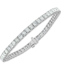 diamond princess tennis bracelet (9 ct. t.w.) in 14k white gold