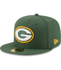 new era green bay packers team basic 59fifty fitted cap