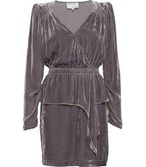 sable dress kort klänning grå designers, remix