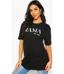 maternity mama est 2020 t-shirt, black