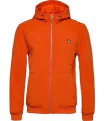 softshell jacket dun jack oranje lyle & scott
