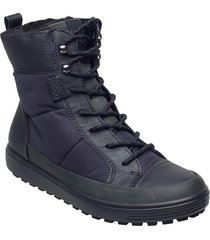 soft 7 tred w shoes boots ankle boots ankle boot - flat blå ecco