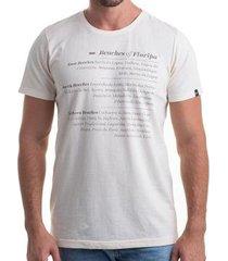 camiseta clothis beaches of floripa masculina