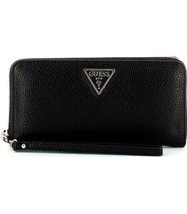 guess womens black wallet