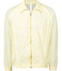 cottweiler transparent sports jacket - yellow