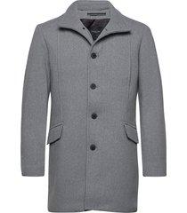 slhmorrison wool coat b noos yllerock rock grå selected homme