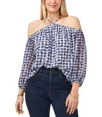 1.state plus size cold-shoulder top