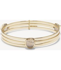 women's 3 pack bangle bracelet set gold one size from sole society