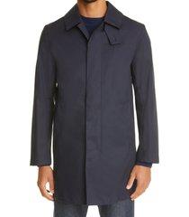 mackintosh cambridge waterproof rain coat, size 38 in navy at nordstrom