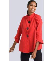 blazer alba moda rood