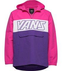 retro sport anorak outerwear jackets anoraks roze vans