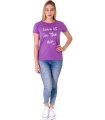 camiseta operarock t-shirt lilás