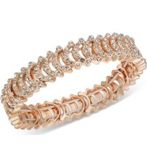 i.n.c crystal stretch bracelet, created for macy's